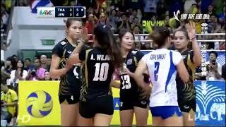 Asian Women's Volleyball Championship Japan Vs Thailand