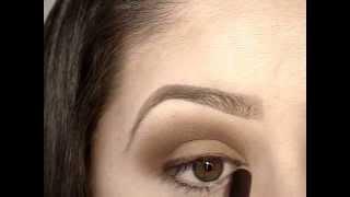 soft smokey eye shadow tutorial
