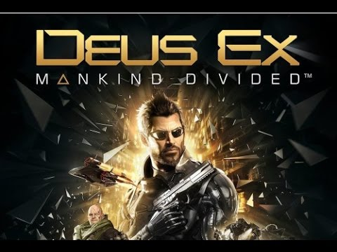 Deus Ex Mankind Divided All Cutscenes (Game Movie) Full Story 1080p HD
