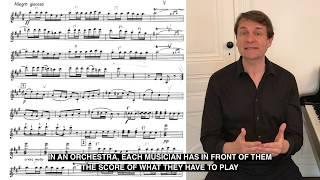 Mes cours de direction d'orchestre 10 - Our conducting orchestral course 10 Laurent Pillot