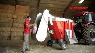 TINAZ - 2m³ Yem Karma Makinesi ( 2m³ Feeder Mixer Wagon )