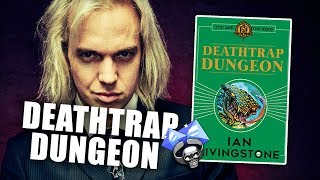 Death Trap Dungeon Live with Ian Livingstone at UK Games Expo