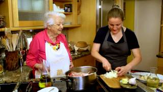 April Bloomfield Cooks Veal Shank with the Legendary Marcella Hazan on Mind Of A Chef