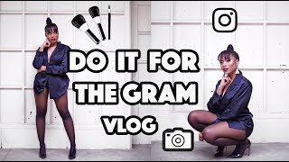 Shooting For Instagram With My Team Vlog| Trishonnastrends