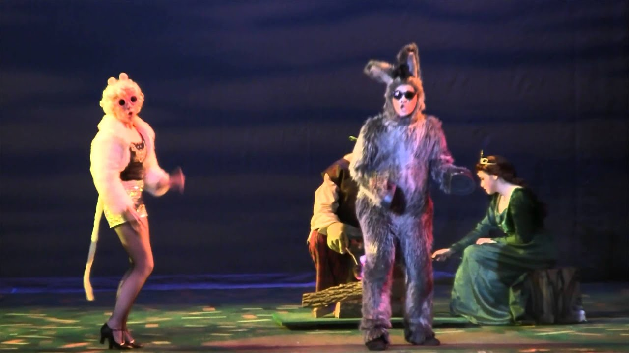 Make A Move 3 Blind Mice Shrek The Musical Uhs Unionville Hs 2016 Youtube