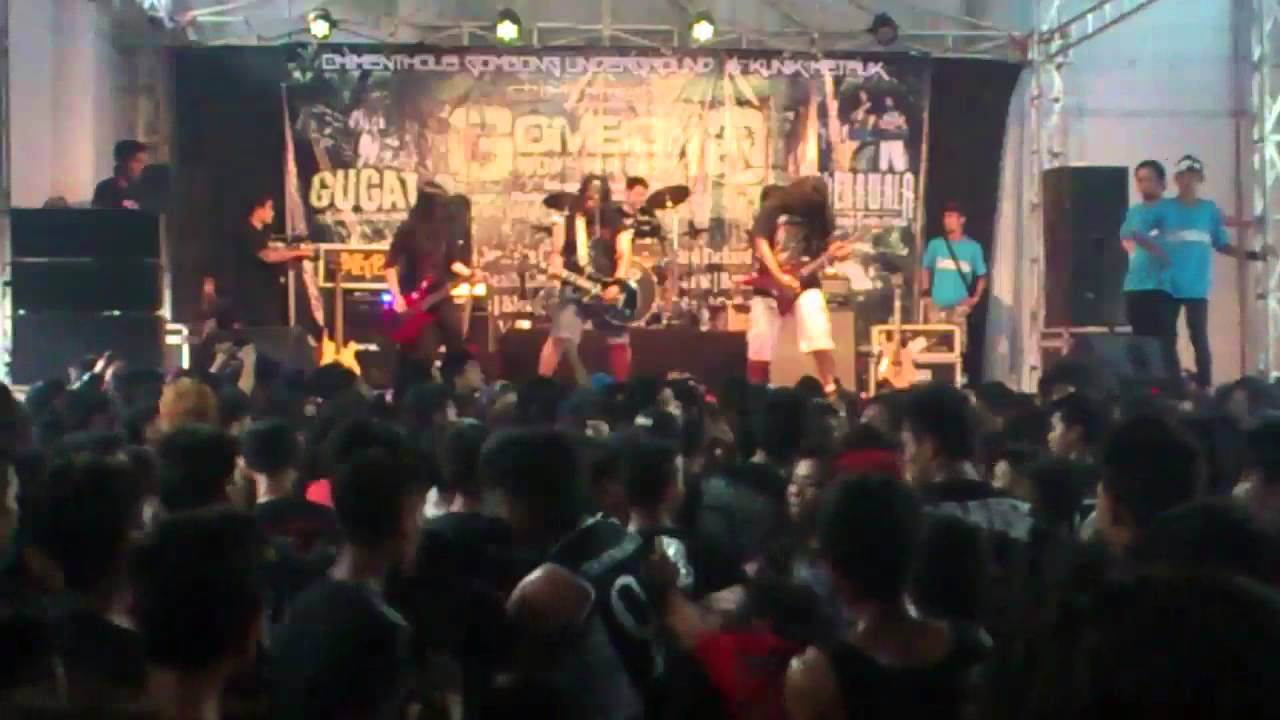 Cakerawala | Bendera Kuning + Fgmenth, Thy Gift - LIVE @ Gombong Monster Fest #3, Indonesia