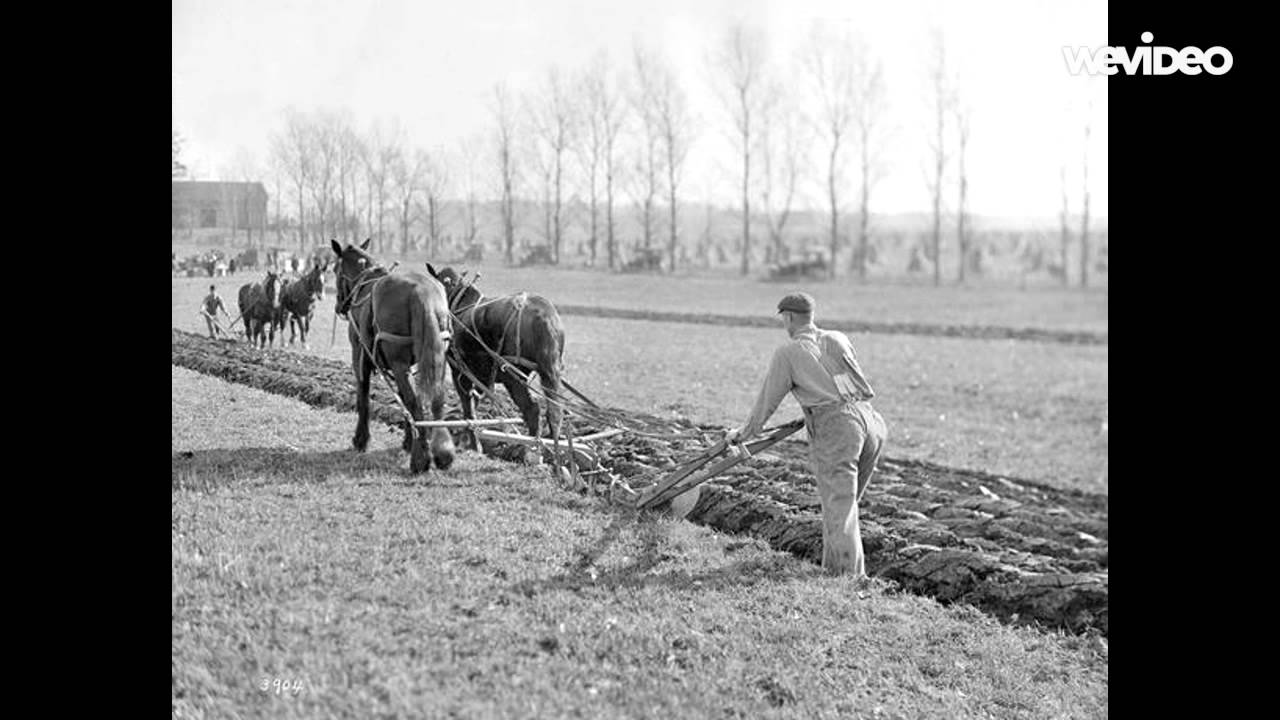 Farming Past and Present - YouTube Pictures From The Past