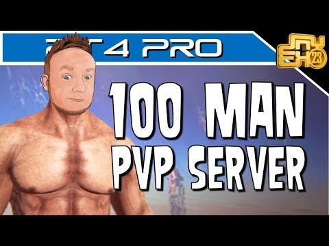 DEDICATED PS4 PvP 100 MAN SERVER - DOING ADMIN STUFF!
