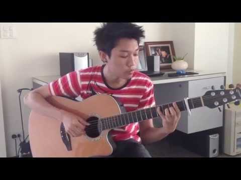 รักแท้อยู่เหนือกาลเวลา ประกอบละคร สุภาพบุรุษจุฑาเทพ(โดม The star) - Fingerstyle Guitar Cover by Palm