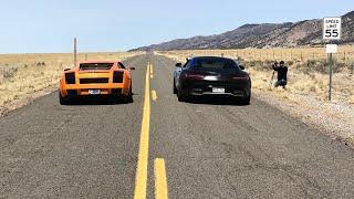 Lamborghini Gallardo vs Mercedes AMG GTS: Which is Faster?