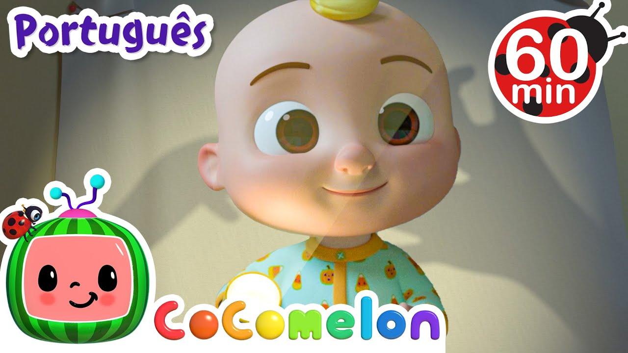 CoComelon em Português | A canção das sombras | Compilação de Desenhos Animados