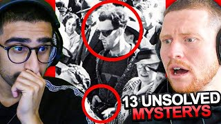 SIDEMEN REACT TO 13 UNSOLVED MYSTERIES