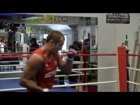 Visiting Boxing Star Sergey  Kovalev at Training Camp