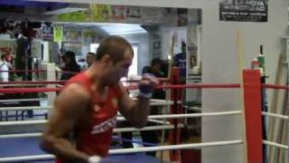 Visiting Boxing Star Sergey  Kovalev at Training Camp