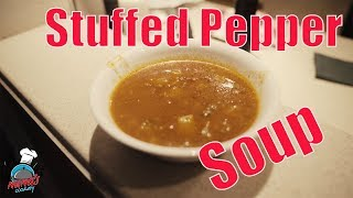Stuffed Pepper Soup    Nana's Cookery