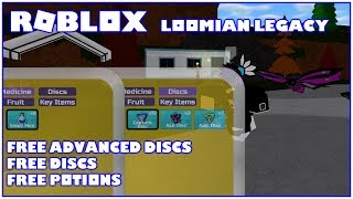 Roblox Loomian Legacy Free Advanced Discs, Free Discs and Potions