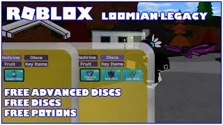 Roblox Loomian Legacy Discos Avanzados Gratuitos, Discos Gratis y Pociones