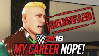 WWE 2K18 MY CAREER MODE - NEW GAMEPLAY!! BARRON BLADE?! NOPE!! (Part 2)