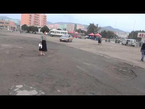 North Korea: Namsan Square of Rason 北朝鮮:羅先市の広場