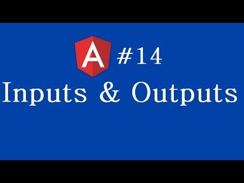 Angular 2 Tutorial - 14 - Inputs and Outputs