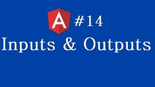 angular 2 tutorial 14 inputs and outputs