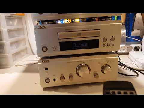 DENON F-88 Set High Fidelity System Test