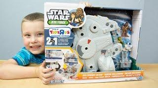 Star Wars Jedi Force Millennium Falcon Playskool Heroes