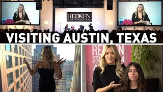 Video VLOG - Visiting Austin for the first time, with Redken for RAC download MP3, 3GP, MP4, WEBM, AVI, FLV Januari 2018