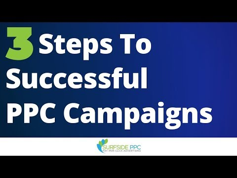 3 Steps To Successful PPC Advertising Campaigns