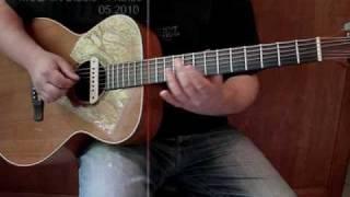 AYERS guitar - LR Baggs M1 activ - Line6 UX1