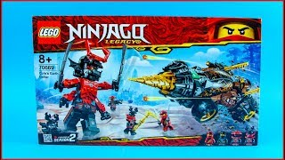 LEGO NINJAGO 70669 Cole's Earth Driller Construction Toy - UNBOXING