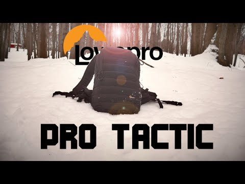 Lowepro Pro Tactic BP-350-AW2 | Review