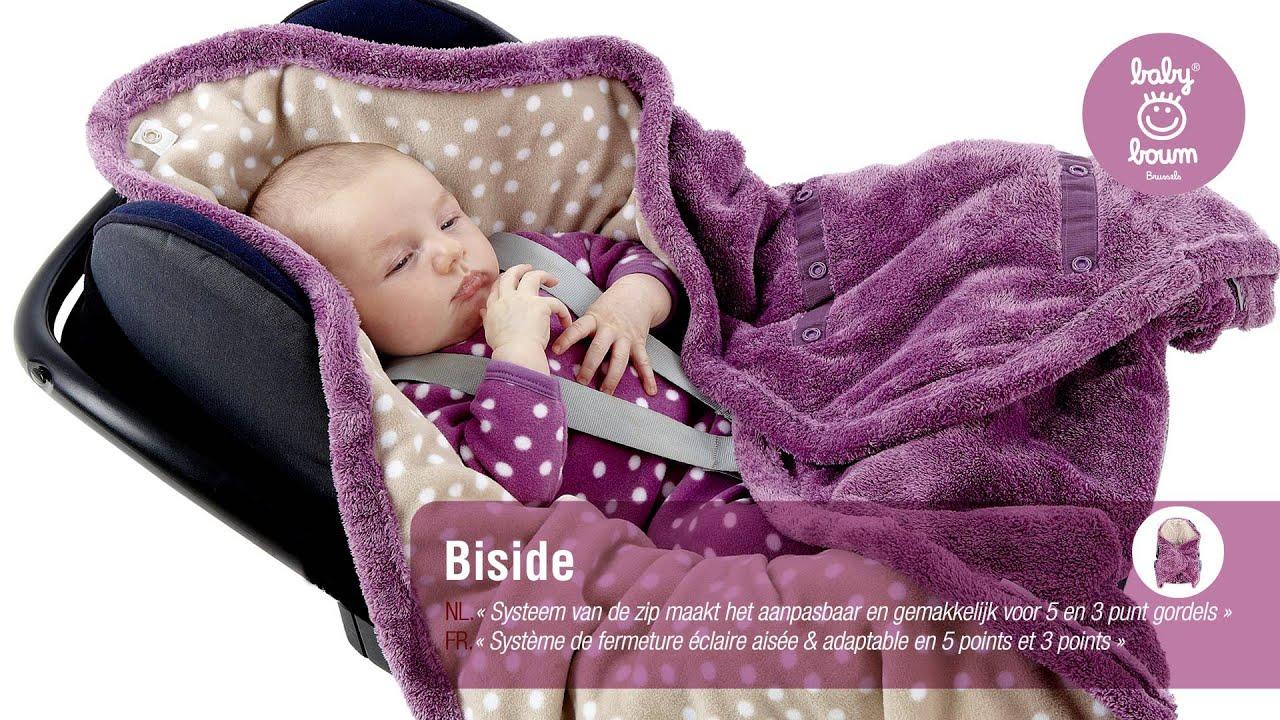 couverture enveloppante pour bébé Couverture pour siège auto BISIDE de BABYBOUM   YouTube couverture enveloppante pour bébé