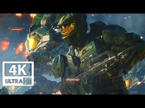 Halo Wars 2 All Cutscenes 4k Game Movie 60fps Youtube