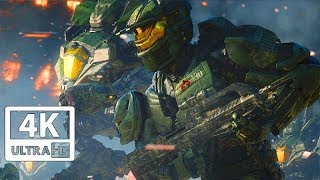 HALO WARS 2 All Cutscenes 4K (Game Movie) 60FPS