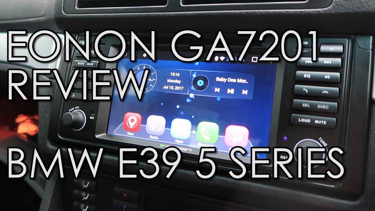 Eonon GA7201 Review BMW E39 5 Series