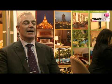 Travel Daily Travel Channel - Interview with Adrian Brown, Chatrium Hotel Riverside, Bangkok