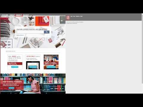 База данных Jstor Public Library: основные поисковые возможности