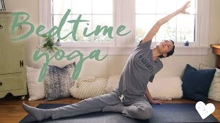 Video Yoga For Bedtime - 20 Minute Practice download MP3, 3GP, MP4, WEBM, AVI, FLV Maret 2018