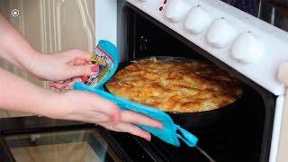 Картофель по-французски с куриным филе