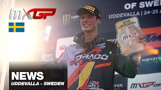 NEWS Highlights - MXGP of Sweden 2019