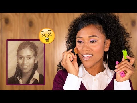 How I Did My Makeup in High School | 90s Throwback GRWM