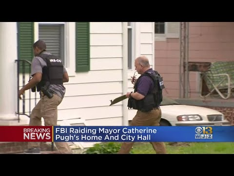 Bob Delmont - WATCH: FBI hauling out Boxes of evidence from Mayor Pugh's house