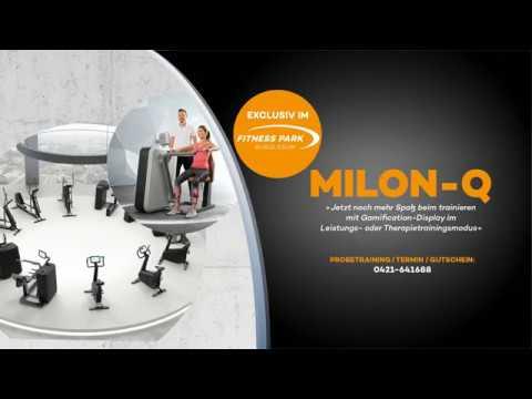 milon q im fitness park bremen youtube. Black Bedroom Furniture Sets. Home Design Ideas