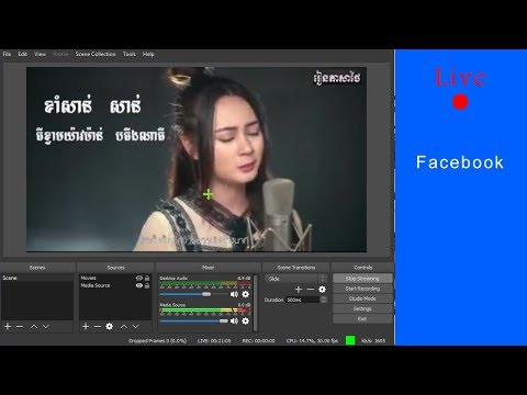 How To Live Videos On Page Facebook Use OBS Studio