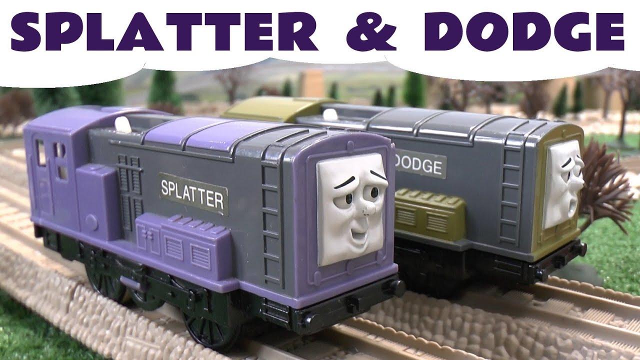 Spotlight Thomas The Train SPLATTER & DODGE By Trackmaster