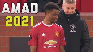 Amad Diallo Man United 2021 ● The Beginning 🔴⚫
