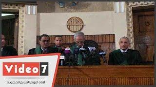 بالفيديو..محكمة النقض تؤجل إعادة محاكمة مبارك بقضية قتل المتظاهرين لجلسة 7 أبريل
