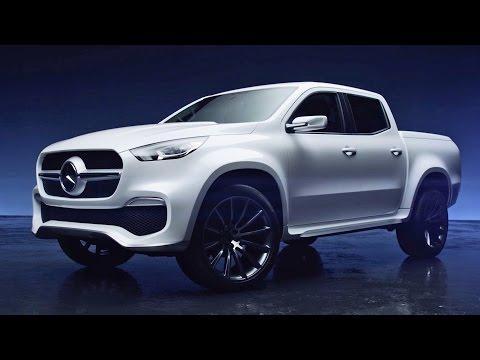 ► Mercedes-Benz X-CLASS Pickup Concept - OFFICIAL Trailer