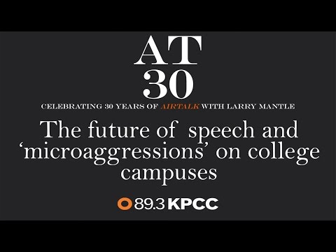 The future of speech and 'microaggressions' on college campuses (#AT30)